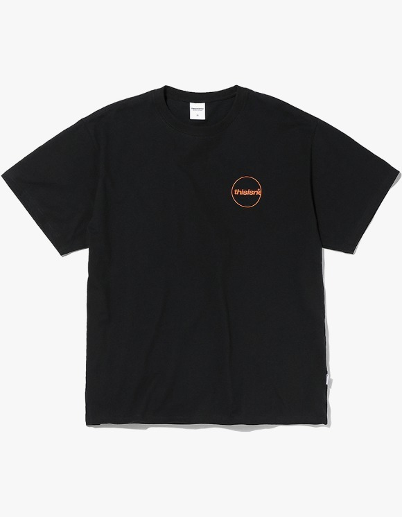 thisisneverthat C-Logo Tee - Black | HEIGHTS. | International Store