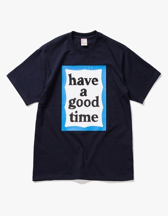 have a good time Big Blue Frame S/S Tee - Navy | HEIGHTS. | International Store