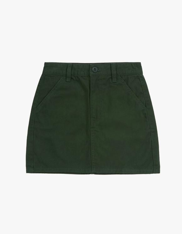 MISCHIEF [2 April, 2019 pre-oder]Chino Mini Skirt -forest green | HEIGHTS. | International Store