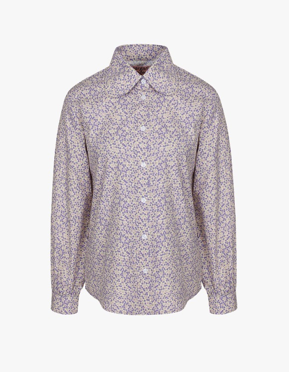 Margarin Fingers Floral Collar Shirt - Lavender | HEIGHTS. | International Store