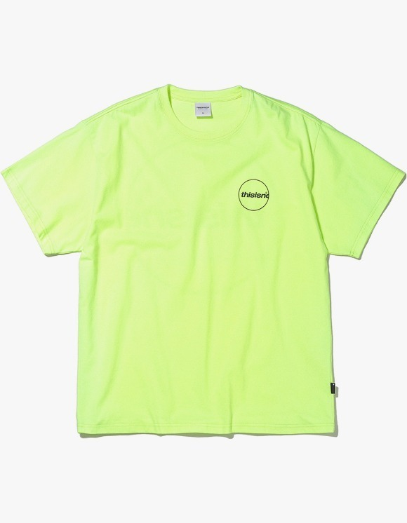 thisisneverthat C-Logo Tee - Neon Green | HEIGHTS. | International Store