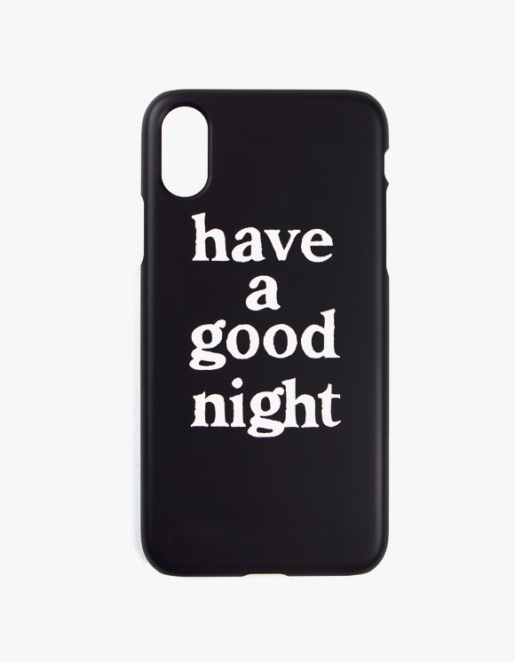 have a good time have a good night iPhone Case X - Black | HEIGHTS. | International Store
