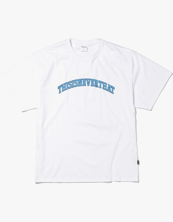 thisisneverthat ARC Logo Tee - White | HEIGHTS. | International Store