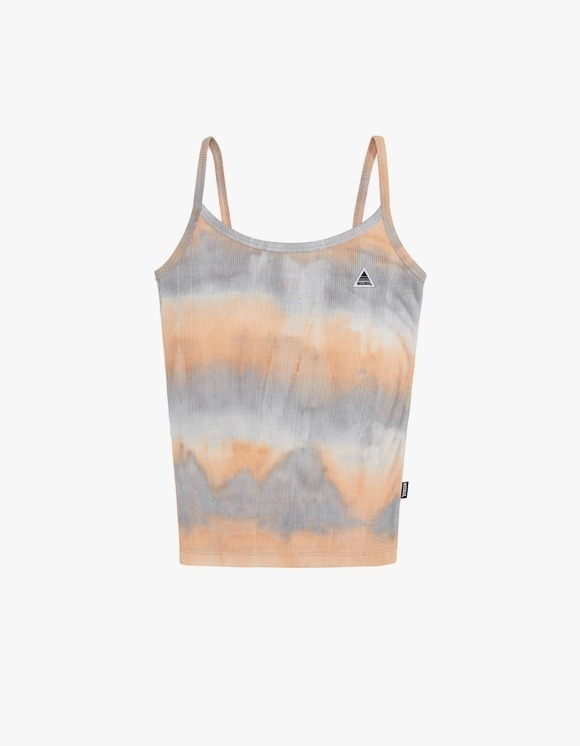 MISCHIEF [4월 5일 예약배송]Tie-Dyed Camisole - Sky Blue / Peach | HEIGHTS. | International Store