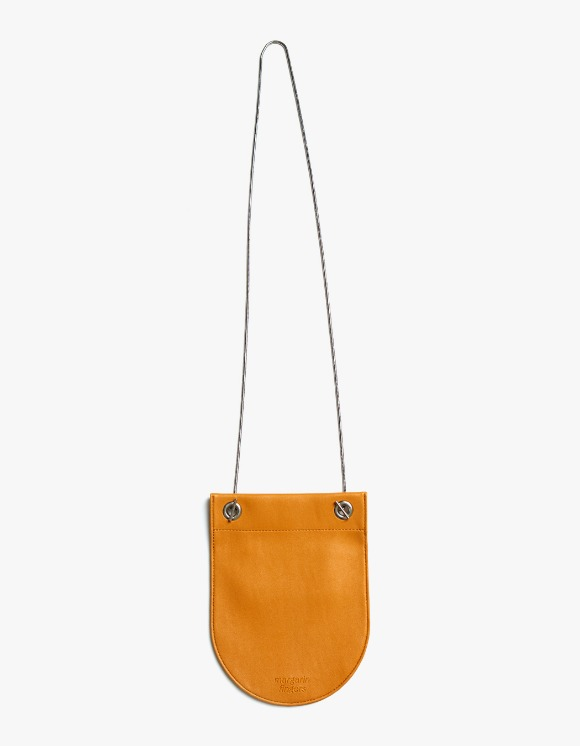 Margarin Fingers Round Compact Bag - Orange | HEIGHTS. | International Store