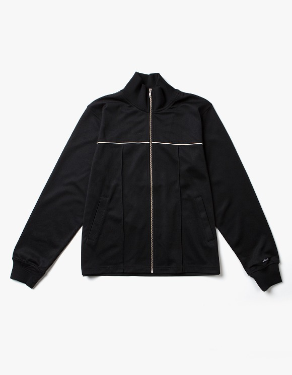Stussy Poly Track Jacket - Black | HEIGHTS. | International Store