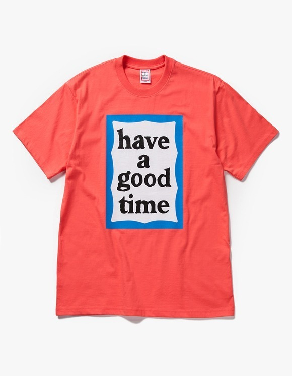 have a good time Big Blue Frame S/S Tee - Coral | HEIGHTS. | International Store