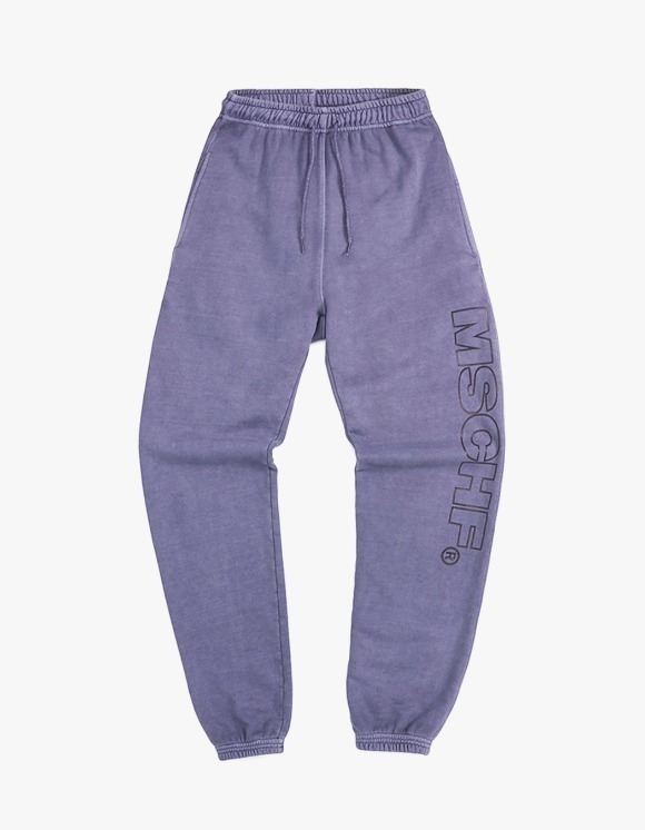 MISCHIEF [21 Mar, 2019 pre-oder]Garment Dyed Training Pants - Purple | HEIGHTS. | International Store