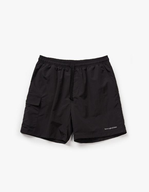 have a good time Aquallum Pocket Shorts - Black | HEIGHTS. | International Store