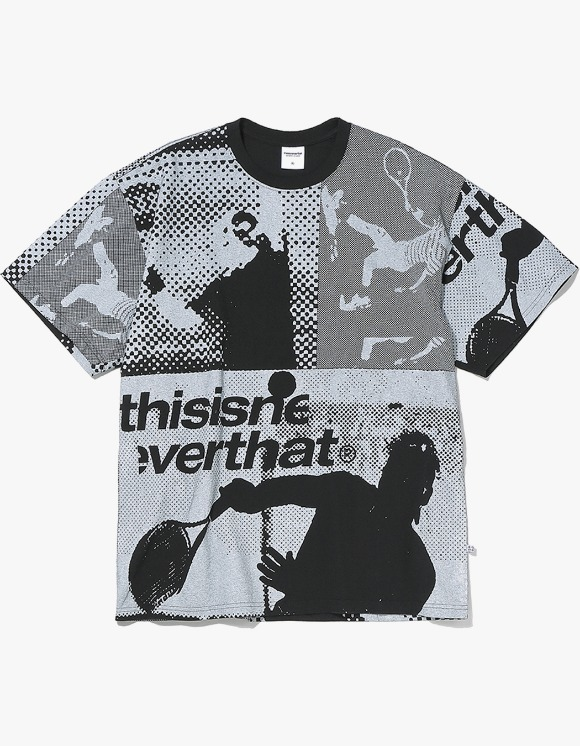 thisisneverthat Tennis Player Tee - Black | HEIGHTS. | International Store