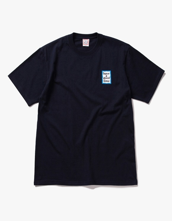 have a good time Mini Blue Frame S/S Tee - Navy | HEIGHTS. | International Store