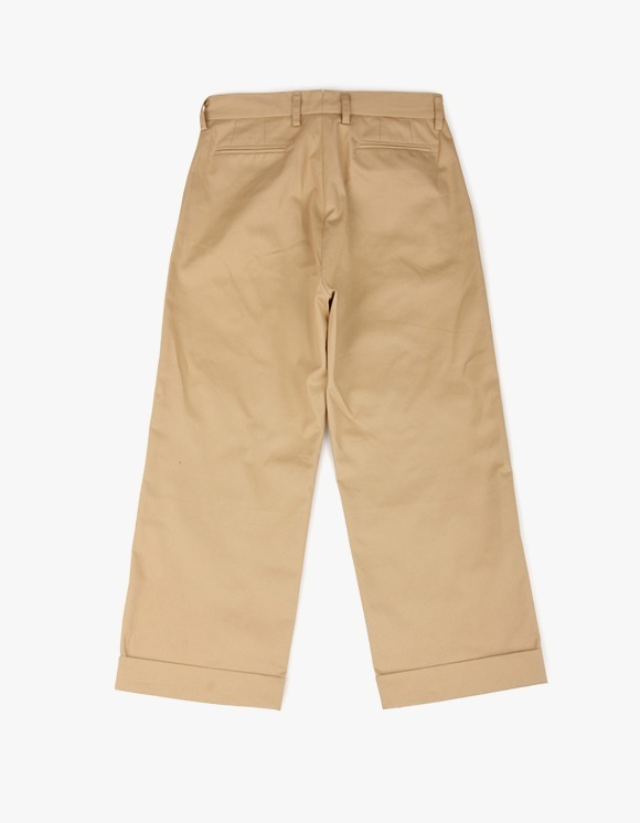 yeseyesee Two Tuck Wide Pants - Beige | HEIGHTS. | International Store