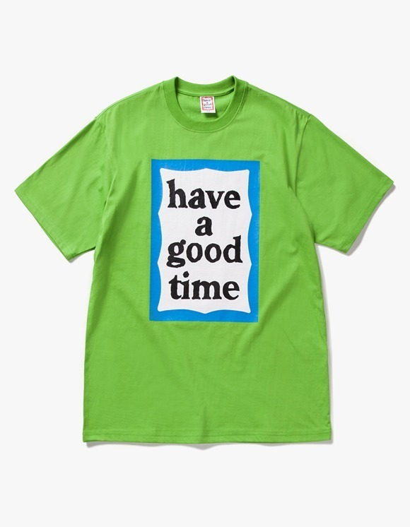 have a good time Big Blue Frame S/S Tee - Leaf Green | HEIGHTS. | International Store