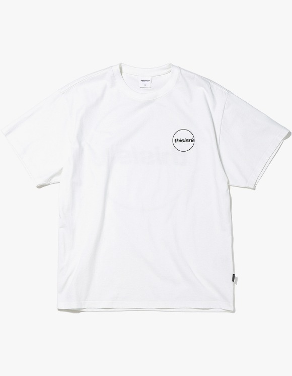 thisisneverthat C-Logo Tee - White | HEIGHTS. | International Store