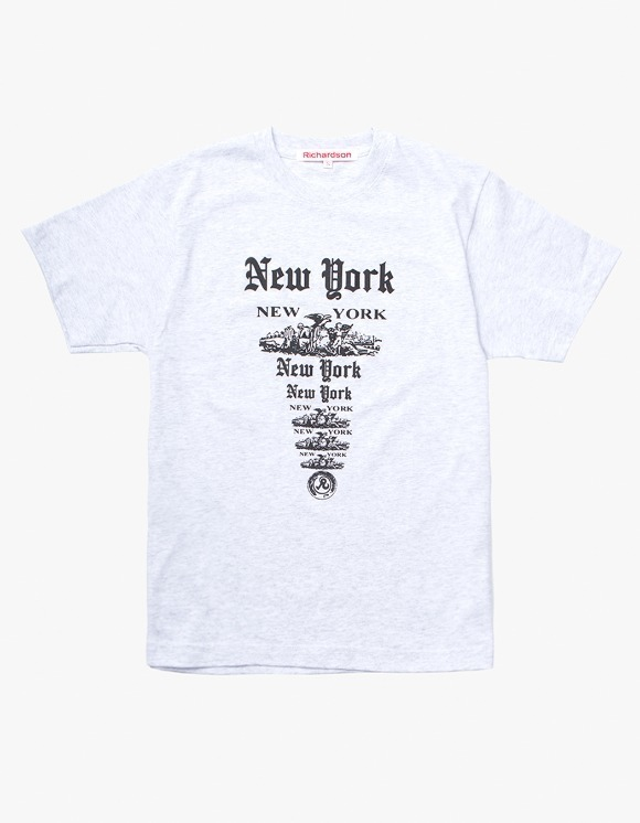 Richardson NY NY S/S T-shirts - Heather Grey | HEIGHTS. | International Store