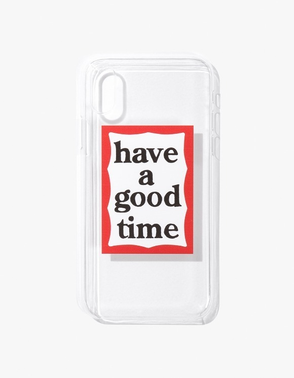 have a good time Frame iPhone Case X - Clear | HEIGHTS. | International Store