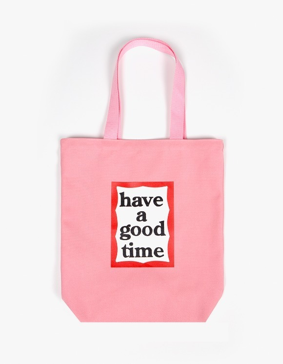 have a good time Frame Tote Bag - Pink | HEIGHTS. | International Store
