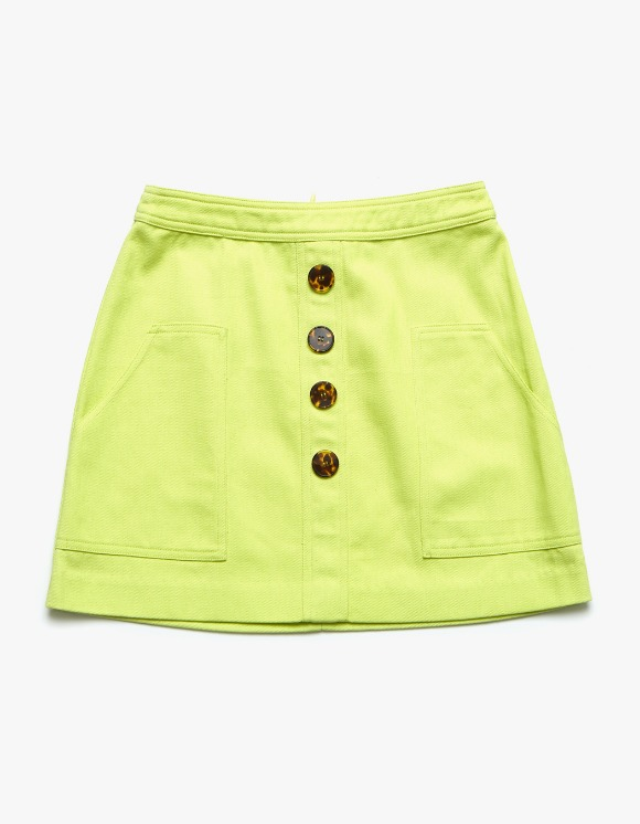 Margarin Fingers Mix Button Skirt - Green | HEIGHTS. | International Store
