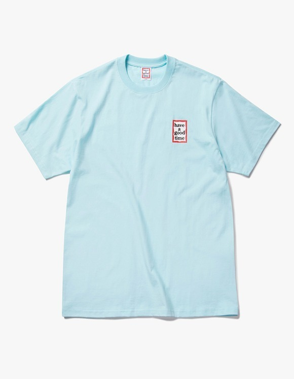 have a good time Mini Frame S/S Tee - Sky Blue | HEIGHTS. | International Store
