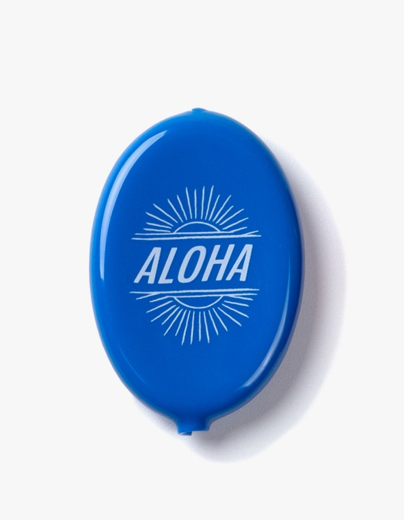 IZOLA NYC Aloha Coin Wallet - Blue | HEIGHTS. | International Store