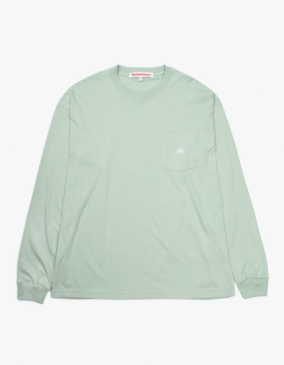 Richardson Pocket Glyph Longsleeve - Light Green | HEIGHTS. | International Store