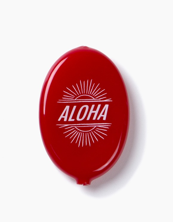 IZOLA NYC Aloha Coin Wallet - Red | HEIGHTS. | International Store