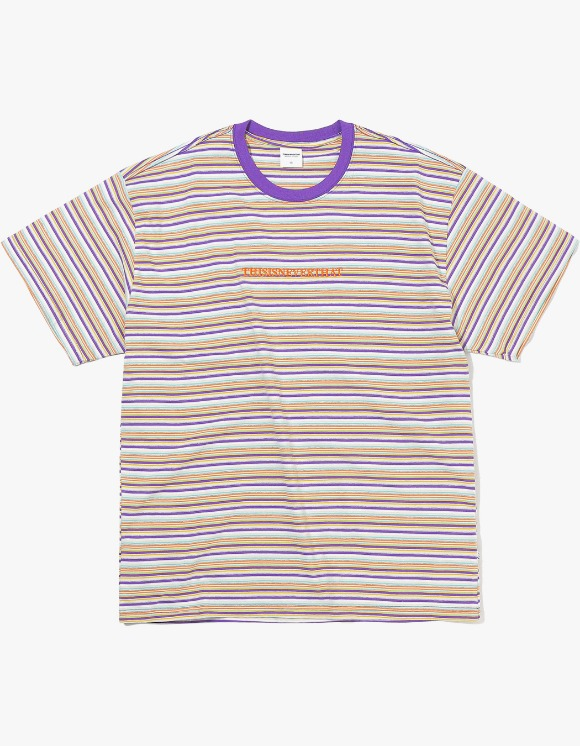 thisisneverthat Cherokee Striped Tee - Ivory | HEIGHTS. | International Store
