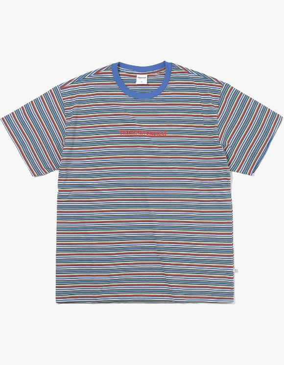 thisisneverthat Cherokee Striped Tee - Navy | HEIGHTS. | International Store