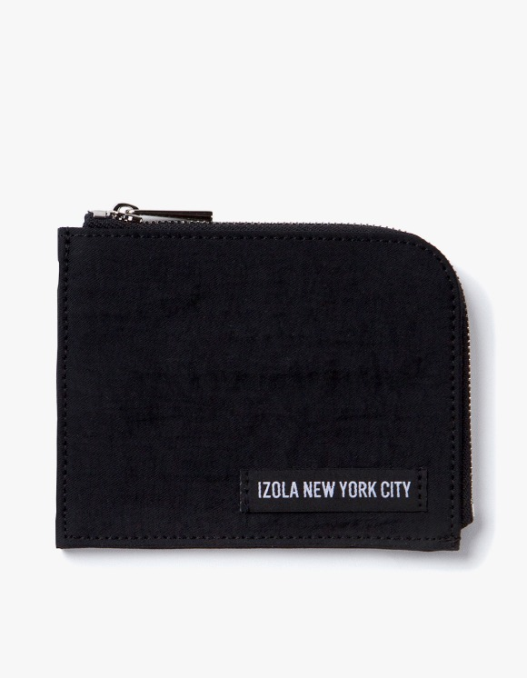 IZOLA NYC Nylon Wallet - Black | HEIGHTS. | International Store