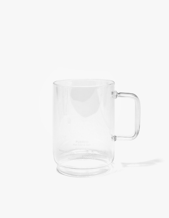 PUEBCO INC. Borosilicate Glass Mug Shallow Staking | HEIGHTS. | International Store