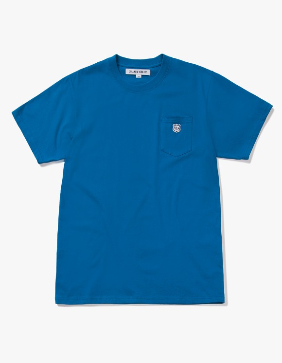 IZOLA NYC Patch S/S Pocket Tee - Deep Blue | HEIGHTS. | International Store