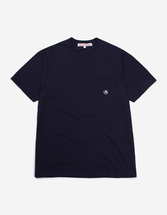 Richardson Pocket Glyph T-Shirt - Blue | HEIGHTS. | International Store