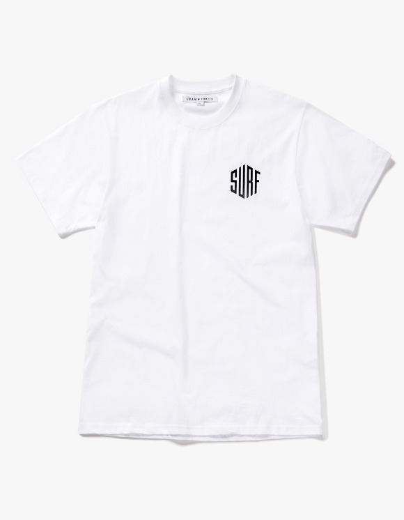 IZOLA NYC Surf S/S Tee - White | HEIGHTS. | International Store
