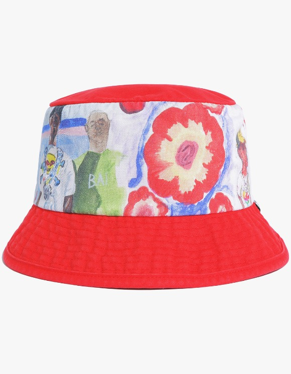 thisisneverthat TWOBOYS Bucket Hat - Red | HEIGHTS. | International Store