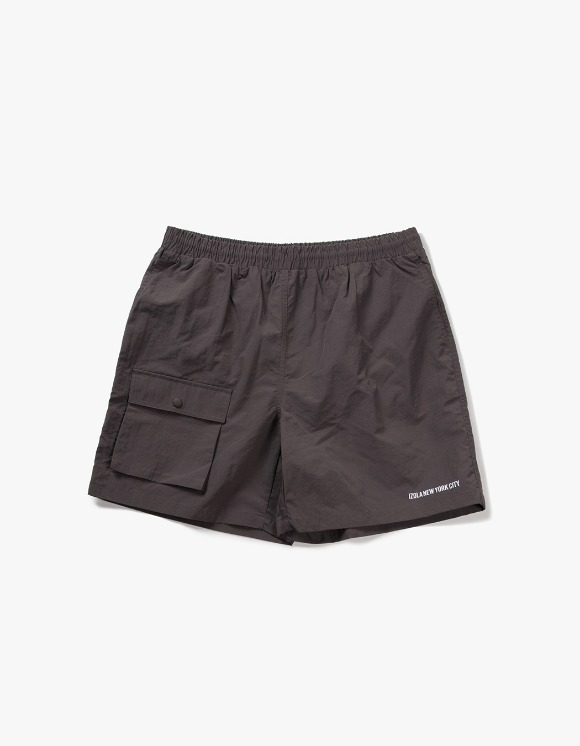 IZOLA NYC Pocket Swim Shorts - Grey | HEIGHTS. | International Store