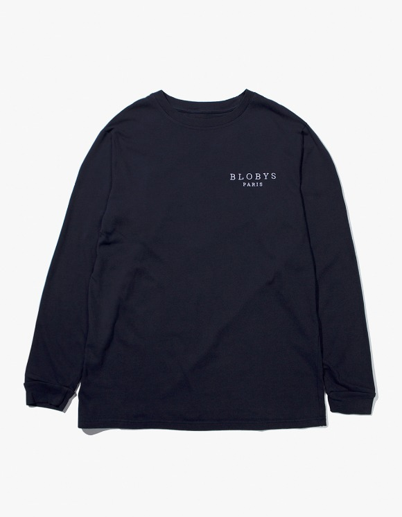 Blobys Paris Blobys Paris L/S Tee - Navy | HEIGHTS. | International Store