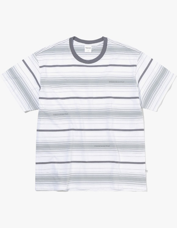 thisisneverthat 3SP Striped Tee - White | HEIGHTS. | International Store