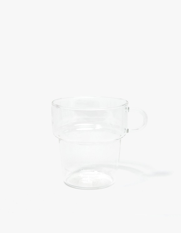 PUEBCO INC. Borosilicate Glass Mug deep Stacking | HEIGHTS. | International Store