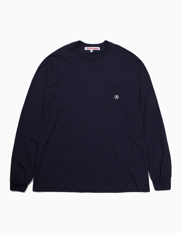 Richardson Pocket Glyph Longsleeve - Midnight Blue | HEIGHTS. | International Store