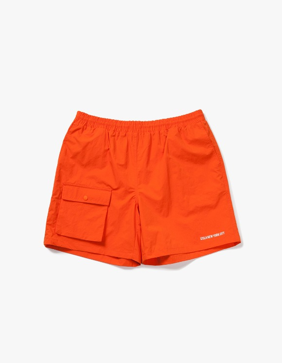 IZOLA NYC Pocket Swim Shorts - Orange | HEIGHTS. | International Store