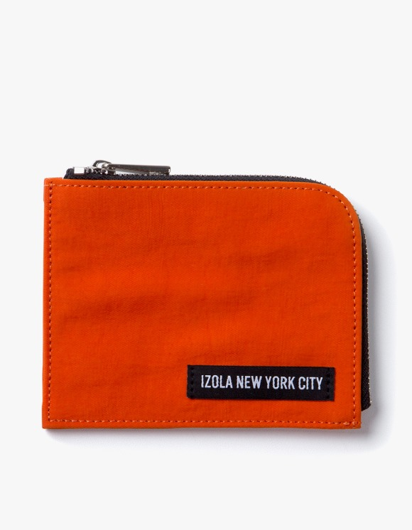 IZOLA NYC Nylon Wallet - Orange | HEIGHTS. | International Store
