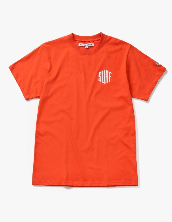 IZOLA NYC Surf S/S Tee - Orange | HEIGHTS. | International Store