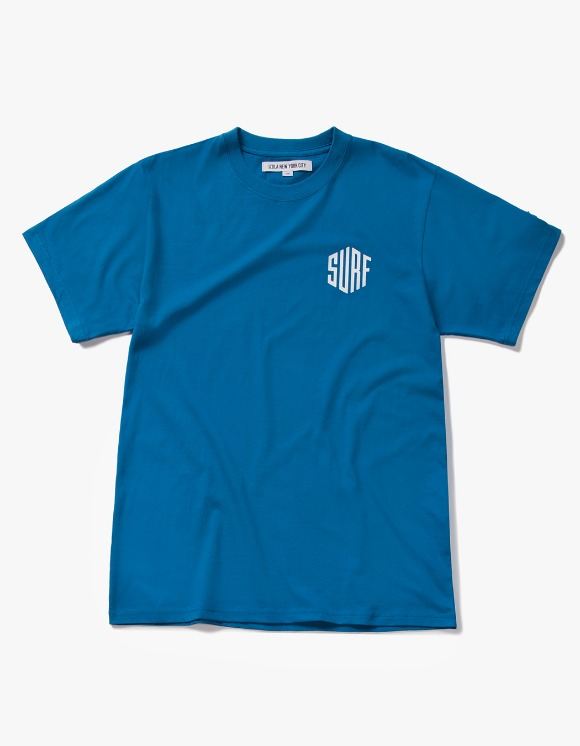 IZOLA NYC Surf S/S Tee - Deep Blue | HEIGHTS. | International Store