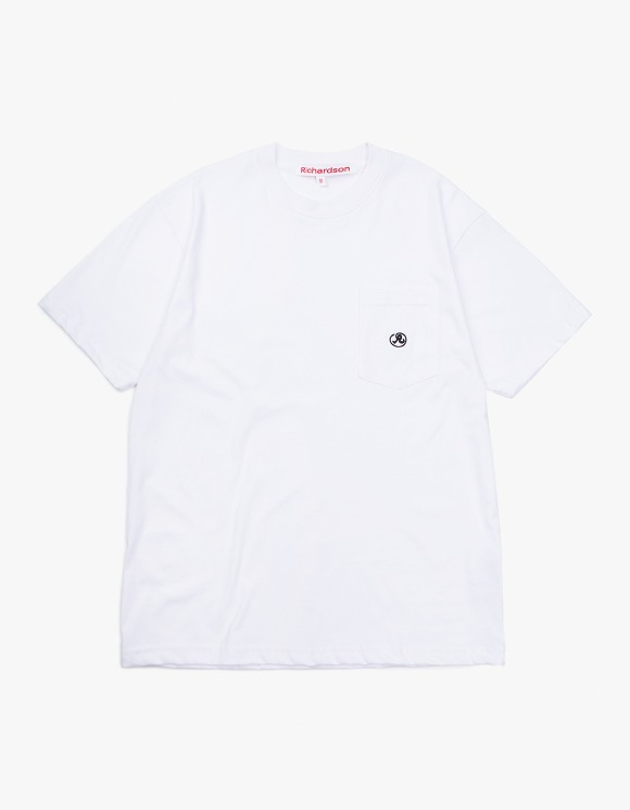 Richardson Pocket Glyph T-Shirt - White | HEIGHTS. | International Store