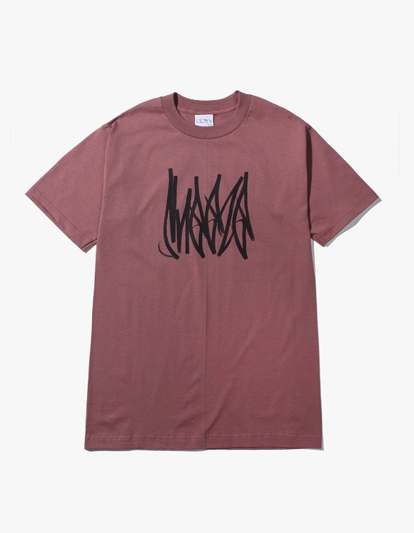 SNEEZE Magazine Sneeze Tag Tee - Dust Red | HEIGHTS. | International Store