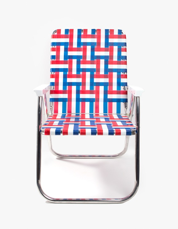 Lawn Chair Deluxe Old Glory with White Arms | HEIGHTS. | International Store