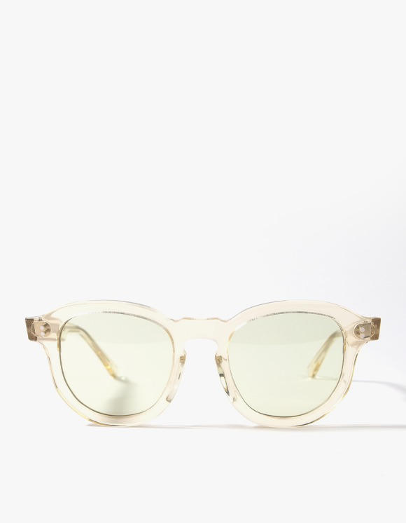 Lores Hawk Sunglasses - Clear/Light Green | HEIGHTS. | International Store