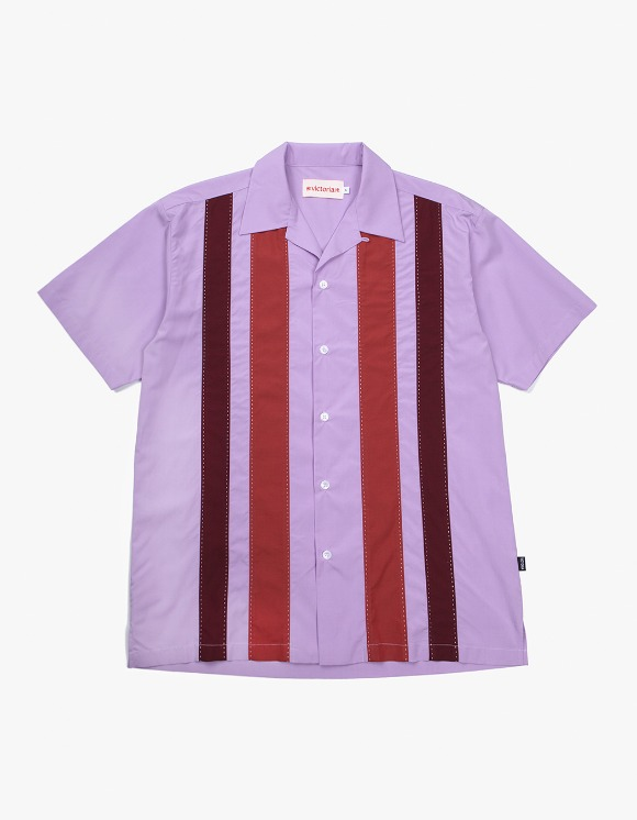 Victoria Hong Kong Open Collar 70's Shirts - Lavender | HEIGHTS. | International Store