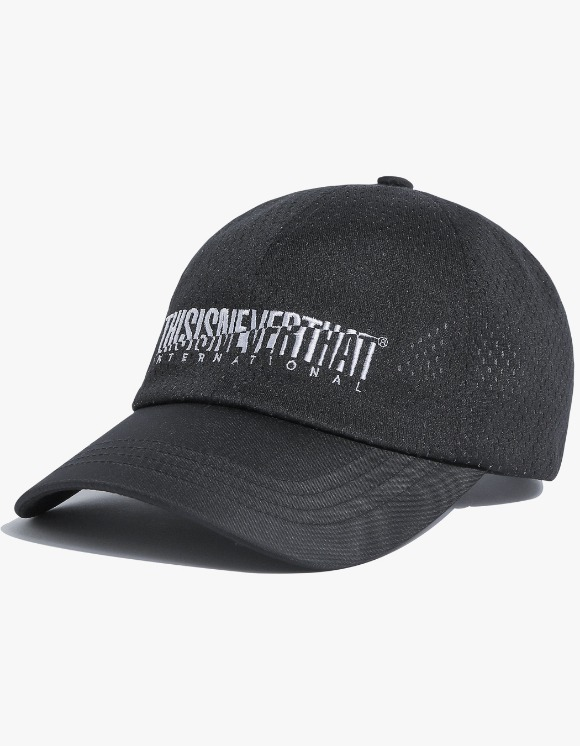 thisisneverthat Athletics Mesh Cap - Black | HEIGHTS. | International Store