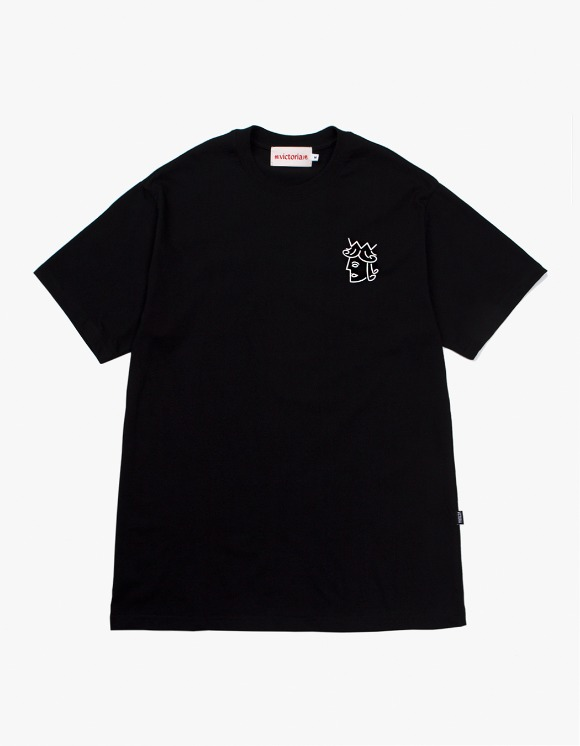 Victoria Hong Kong Queenhead S/S Classic Tee - Black | HEIGHTS. | International Store